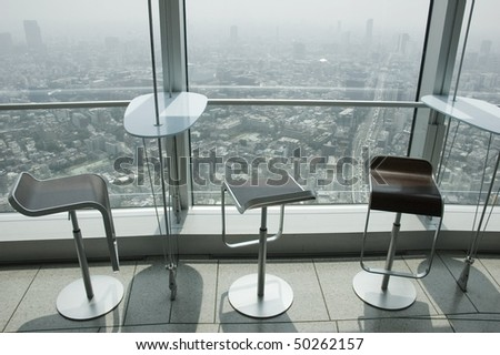 View from above, Tokyo, Japan - stock photo