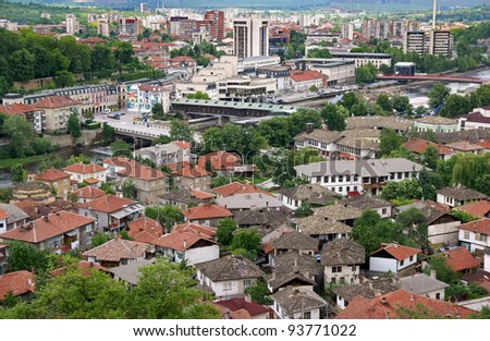 View from Lovech city, Bulgaria