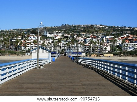 View from the San Clemente Pier, Orange County, CA