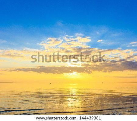 View Landscape Wallpaper - stock photo