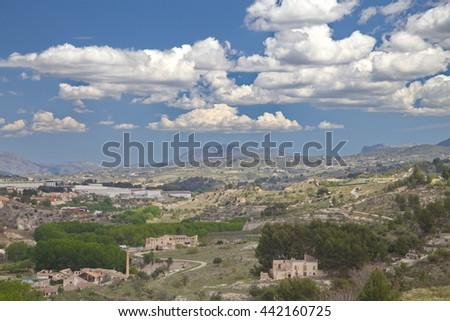 View of Alcoy, Spain - stock photo