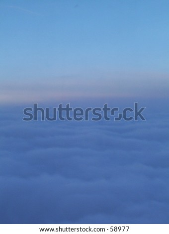 View of an Early Morning Flight