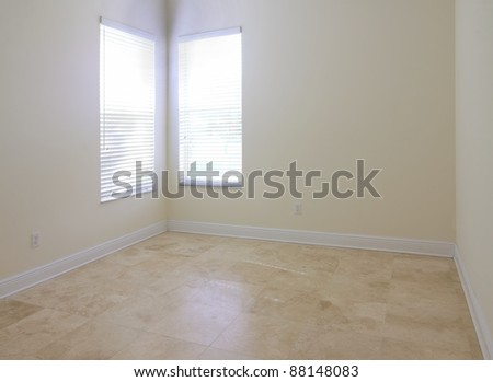 View of an empty room with  window