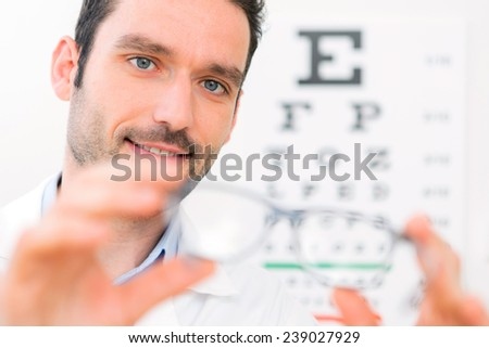 View of an Ophthalmologist make you try new glasses