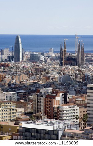 View of Barcelona5 - stock photo