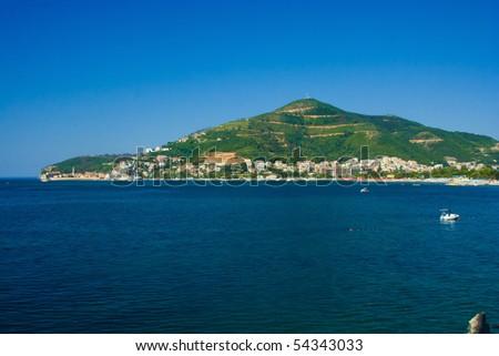 View of Budva (Montenegro) - stock photo