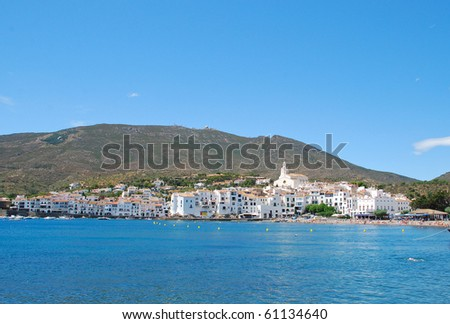 View of Cadaques (Costa Brava, Catalonia, Spain)