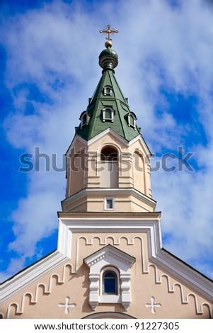 View of Church in Kiev, Ukraine - stock photo