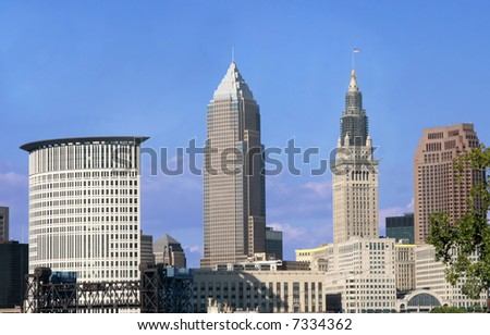 view of downtown Cleveland, Ohio