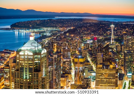 Seattle stock photos royalty free images vectors for 7 salon downtown seattle