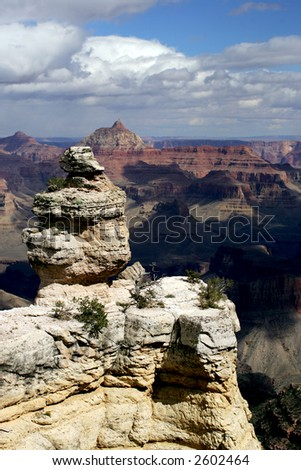 View of Grand Canyon National Park