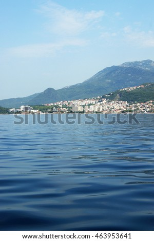View of Igalo and Herceg Novi, Montenegro