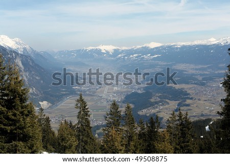View of Innsbruck - stock photo