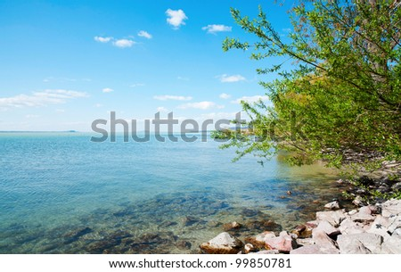 View of Lake Balaton, Hungary