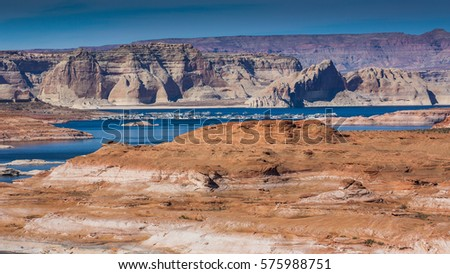 View of Lake Powell, Arizona