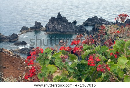 View of Madeira island.Portugal