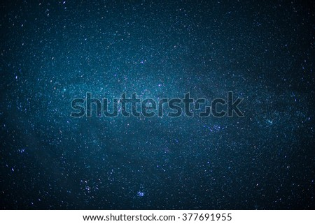 View of Milky Way.