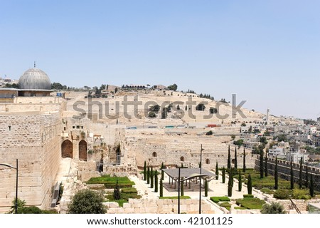 view of mount of olives