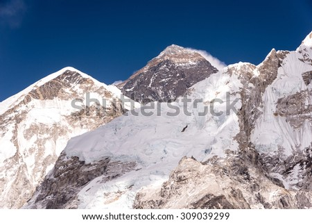 View of Mt.Everest from Kala Phattar, Nepal