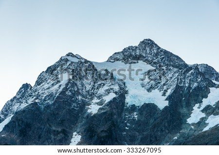 view of mt Shuksan,scenic view in Mt. Baker Snoqualmie National Forest Park,Washington,USA. - stock photo