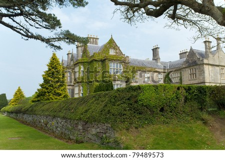 View of Muckross estate, Ireland - stock photo