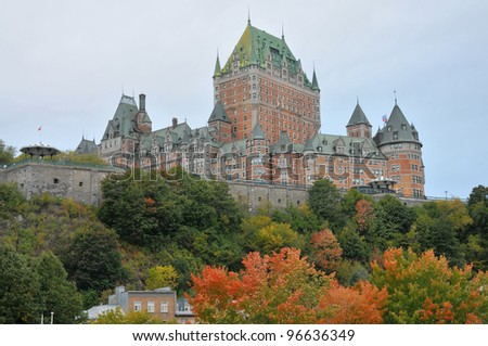 Chateau Frontenac Stock Photos, Chateau Frontenac Stock ...