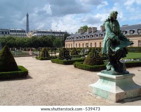 View of Paris - stock photo