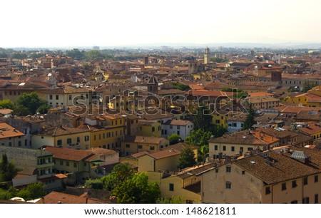 View of Pisa - stock photo