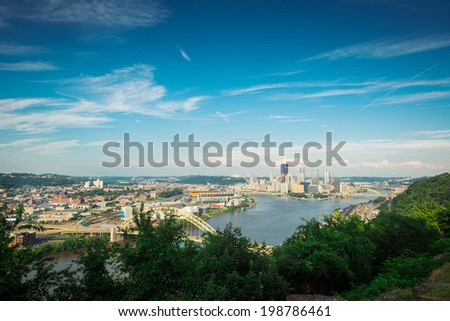 View of Pittsburgh - stock photo