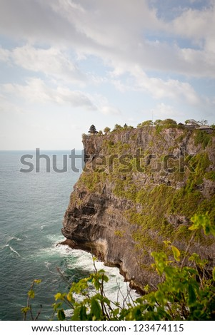View of Pura Uluwatu temple, Bali, Indonesia