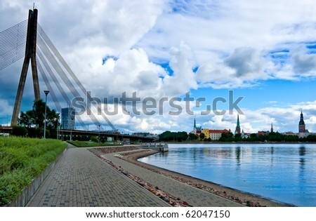 View of Riga - stock photo