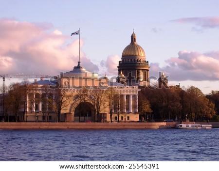 View of Saint Petersburg, Russia - stock photo
