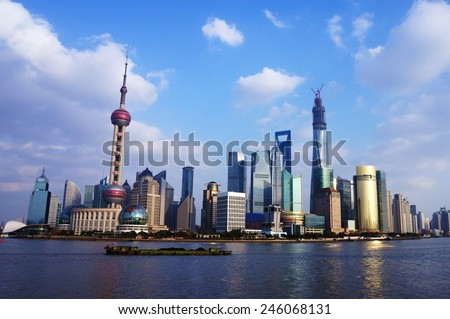 View of shanghai