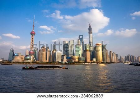 View of shanghai - stock photo
