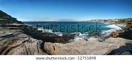 View of Tamarama Bay, Sydney, Australia - stock photo