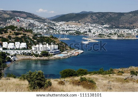 View of the Bodrum - stock photo