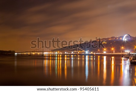 View of the Dnieper in Kyiv