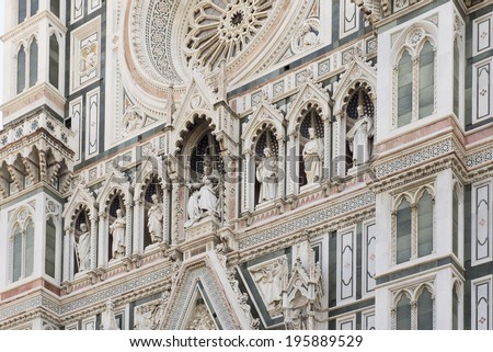 View of the Duomo. Florence. Italy - stock photo