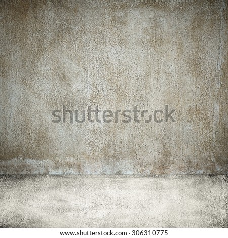 View of the industrial street walking path in dark shadow - stock photo