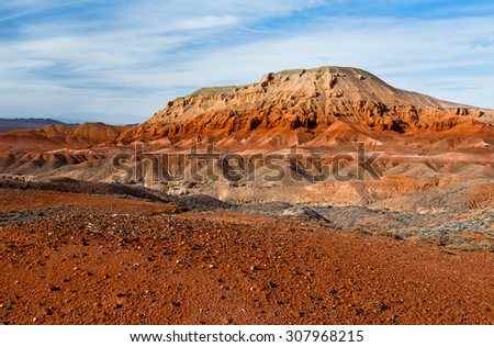 View of the majestic Red Canyon