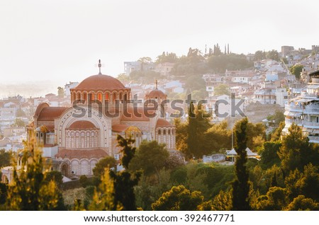 View of the Thessaloniki city, Greece - stock photo