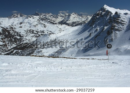 View of the valley II - stock photo