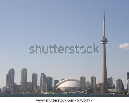 View of Toronto, Canada - stock photo