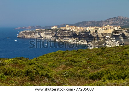 View on Bonifacio