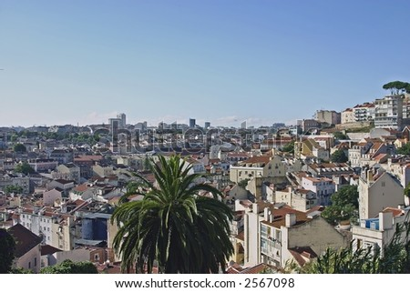 View on Lisbon Portugal