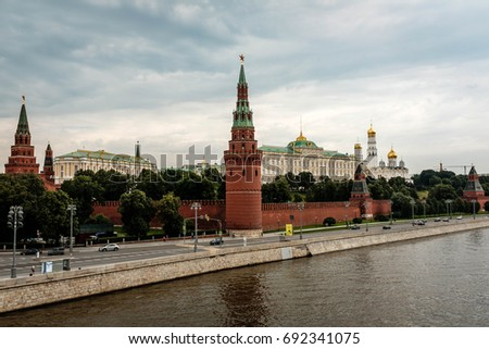 View on the Kremlin
