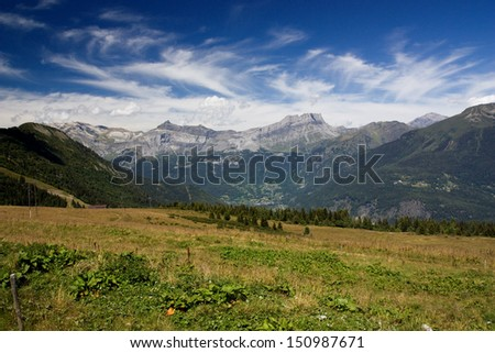 View on the way - Tramway - stock photo