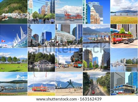 View on Vancouver. British Columbia. Canada. - stock photo