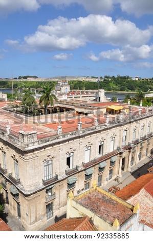 View over old Havana - stock photo