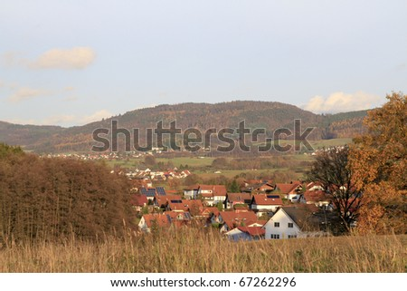 View Rimbach, Odenwald